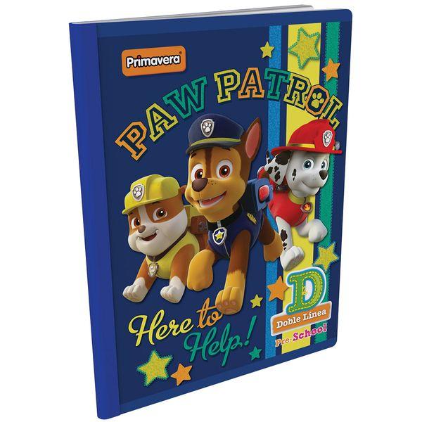 Cuaderno-Cosido-Pre-School-D-Paw-Patrol-Azul-Oscuro-