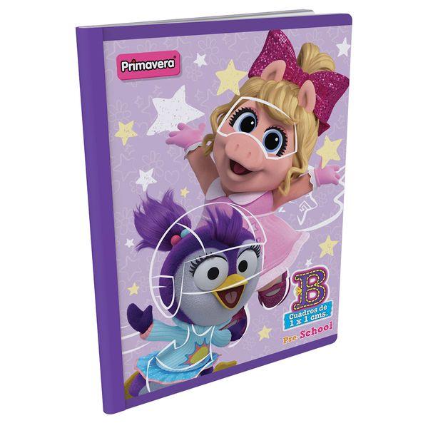 Cuaderno-Cosido-Pre-School-B-Muppet-Babies-Lila-