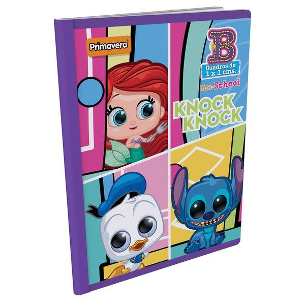 Cuaderno-Cosido-Pre-School-B-Disney-Doorables-Azul-