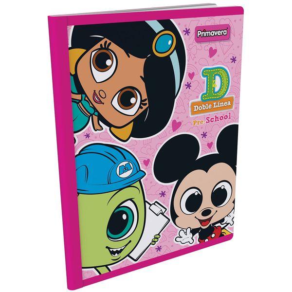 Cuaderno-Cosido-Pre-School-D-Disney-Doorables-Rosado-