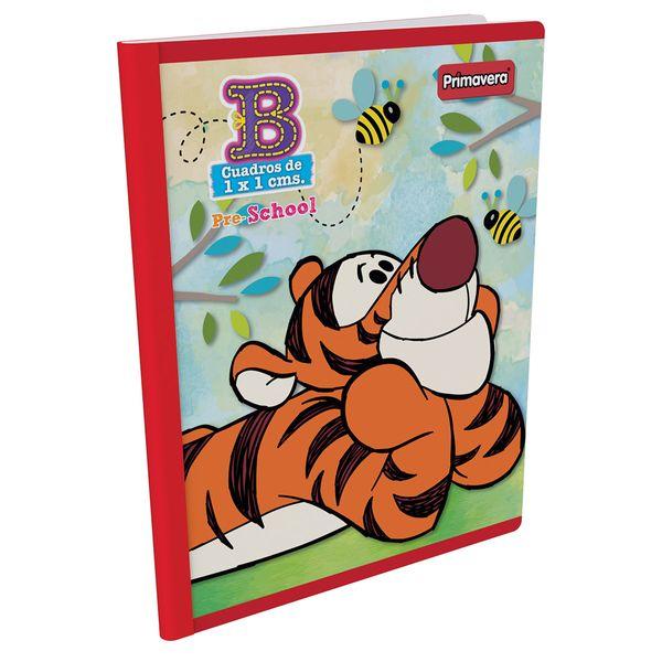 Cuaderno-Cosido-Pre-School-B-Winnie-Pooh-Rojo-