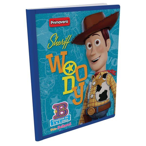 Cuaderno-Cosido-Pre-School-B-Toy-Story-4-Azul-Claro-