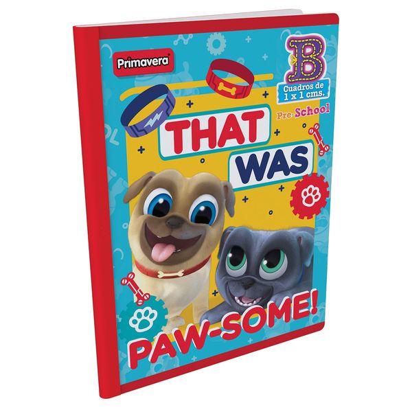 Cuaderno-Cosido-Pre-School-B-Puppy-Dog-Pals-Rojo-