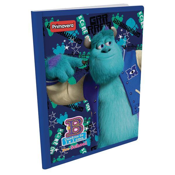 Cuaderno-Cosido-Pre-School-B-Monster-Inc.-Azul-Oscuro-
