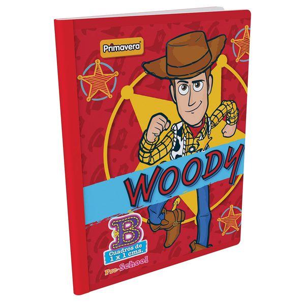 Cuaderno-Cosido-Pre-School-B-Toy-Story-4-Rojo-