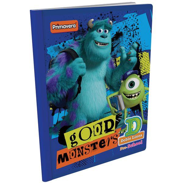 Cuaderno-Cosido-Pre-School-D-Monster-Inc.-Azul-Oscuro-