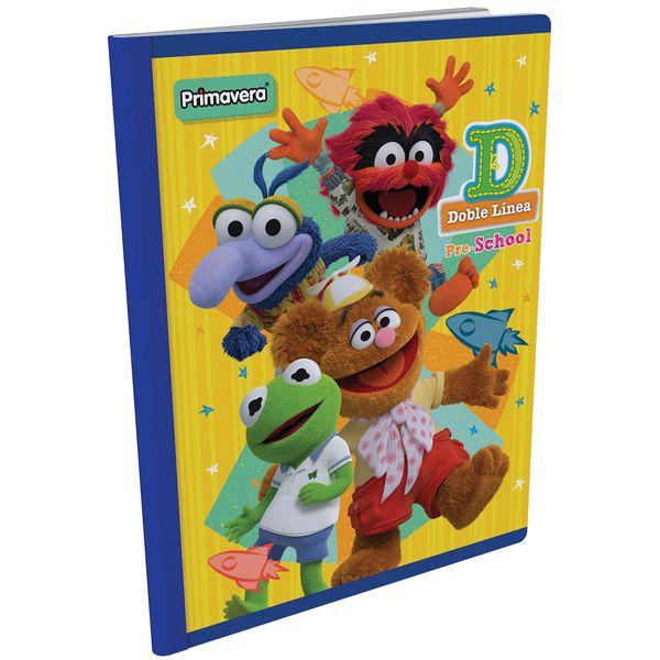 Cuaderno-Cosido-Pre-School-D-Muppet-Babies-Amarillo-