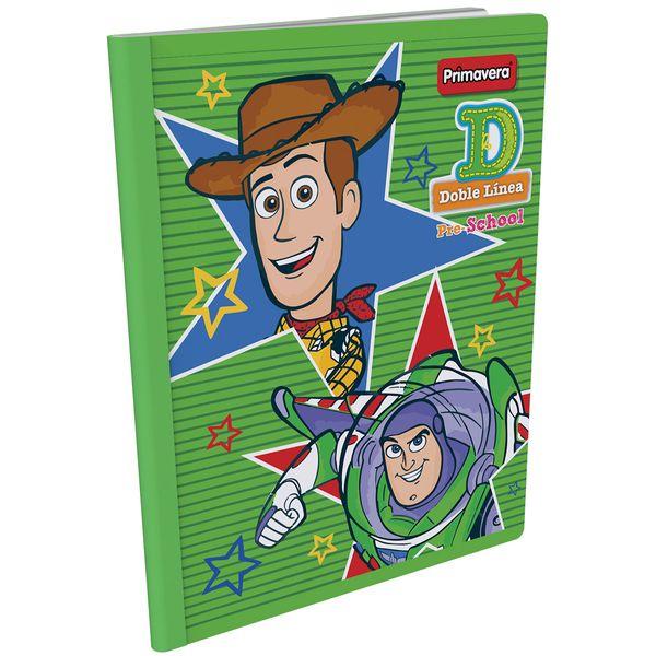Cuaderno-Cosido-Pre-School-D-Toy-Story-4-Verde-