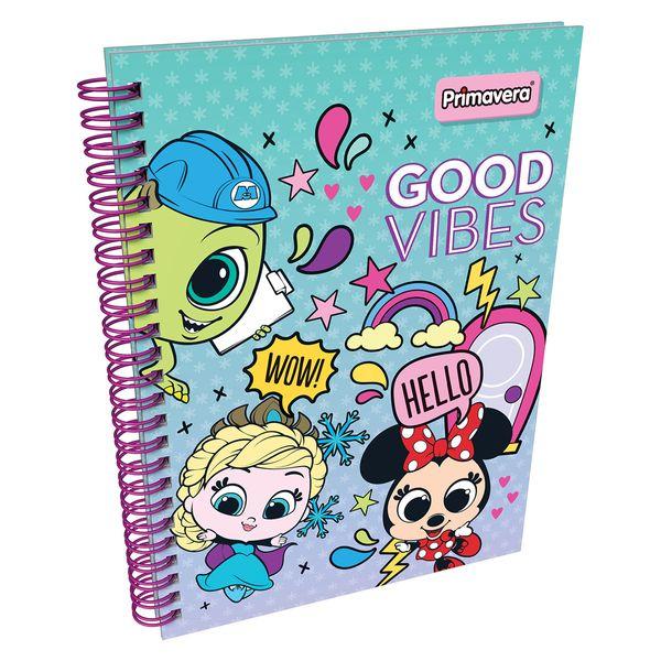 Cuaderno-Argollado-Pasta-Dura-Disney-Doorables-Verde