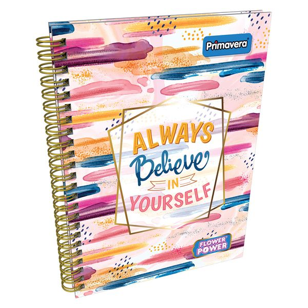 Cuaderno-Argollado-Pasta-Dura-Flower-Power-Manchas-Rosado