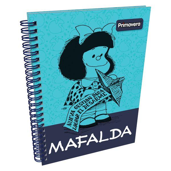 Cuaderno-Argollado-Pasta-Dura-Mafalda-Azul