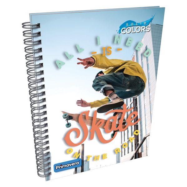 Cuaderno-Argollado-Pasta-Dura-Solid-Colors-Blanco