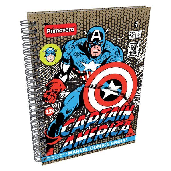 Cuaderno-Argollado-Pasta-Dura-Marvel-Comics-Azul