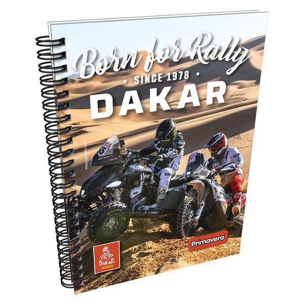 Cuaderno-Argollado-Pasta-Dura-Dakar-Ocre