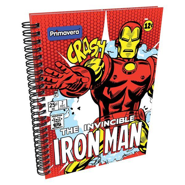 Cuaderno-Argollado-Pasta-Dura-Marvel-Comics-Rojo
