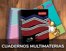Cuadernos Multimaterias