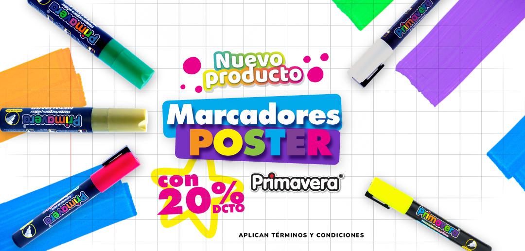 Marcadores Póster - Mobile