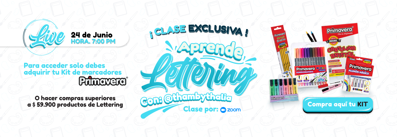 Clase Lettering Tham by Thalia