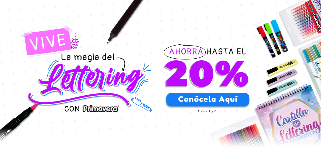 Magia Lettering - Mobile
