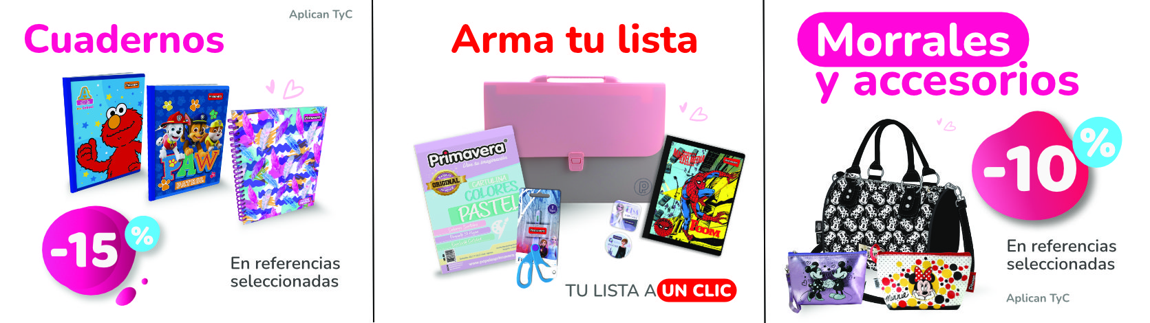 Banner Izquierdo Inferior - Cuadernos