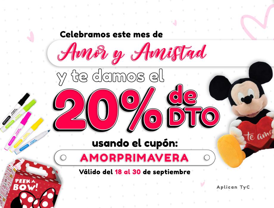 Cupon Amor y Amistad - Mobile