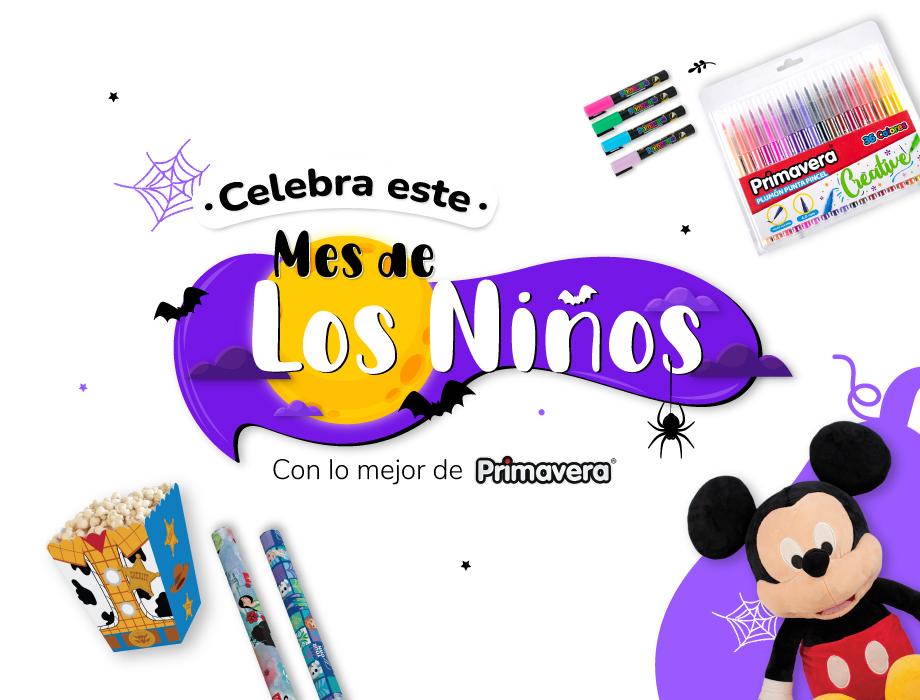 Banner Mes de los Niños - Mobile