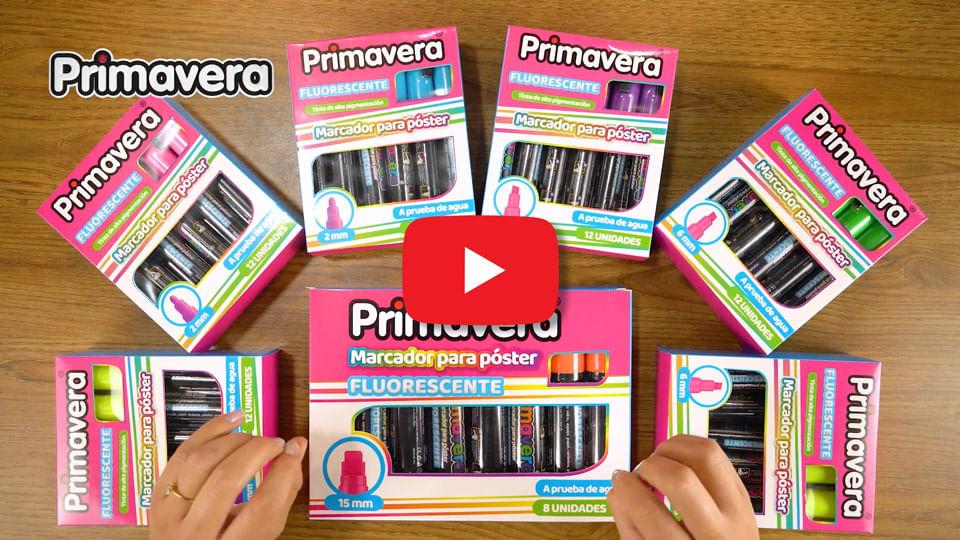 Video Marcadores Fluorescentes