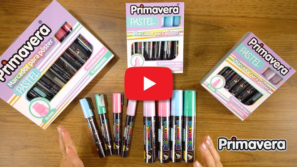 Video Marcadores Pastel